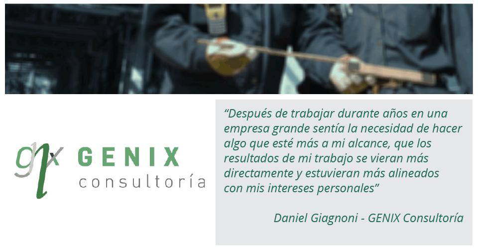 Historia inspiradora: Daniel de Genix