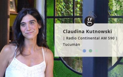 Claudina Kutnowski en la radio: Reflexiones sobre el cambio laboral