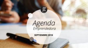 AGENDA EMPRENDEDORA SEPTIEMBRE 18